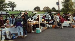 Generic car boot sale